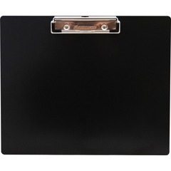 Saunders 21522: Landscape Aluminum Clipboard 8 1/2 x 11 Low-profile Aluminum Black 1 Each