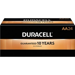 Duracell 01501CT: CopperTop Battery for Lantern, Smoke Alarm, Flashlight, Calculator, Pager, Camera, Radio, CD Player, Medical Equipment, Toy, Game,... AA Alkaline 144 / Carton