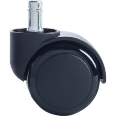 Master Caster 94326: Master Mfg. Co Futura Chair Mat Casters 7/16 Dia. x 7/8 Long Stem, 120 lbs. / Caster, Matte Black Finish, 5 / Set