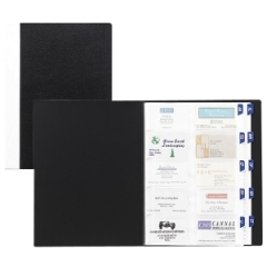 Rolodex 67482 Business Card Organizing Book 480 Capacity 850