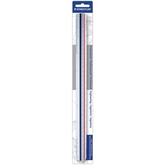 Staedtler 9871834BK: 12 Triangular Engineer Scale 12 Length Imperial Measuring System Polystyrene 1 Each White
