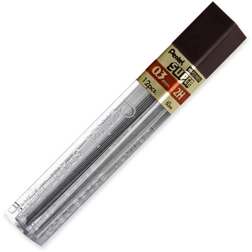 2H Hi-Polymer Lead 0.3 mm Black Extra Fine PEN3002H